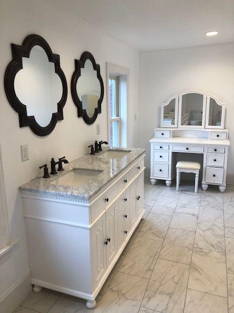 Bathroom Remodeling Evergreen Custom Carpentry In